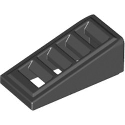 Black Slope 18 2 x 1 x 2/3 with 4 Slots