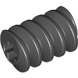 Black Technic, Gear Worm Screw, Long - used