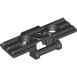 Black Technic, Link Tread Wide with Two Pin Holes
