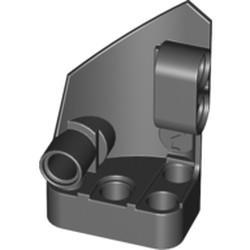 Black Technic, Panel Fairing # 2 Small Smooth Short, Side B - new