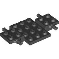 Black Vehicle, Base 4 x 7 x 2/3 - new
