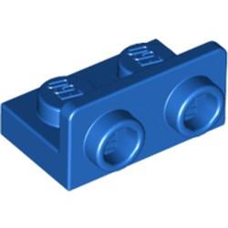 Blue Bracket 1 x 2 - 1 x 2 Inverted