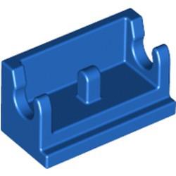 Blue Hinge Brick 1 x 2 Base - used