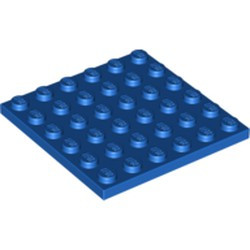 Blue Plate 6 x 6 - new