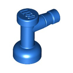 Blue Tap 1 x 1 without Hole in Nozzle End