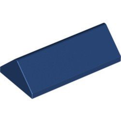 Dark Blue Slope 45 2 x 4 Double - used