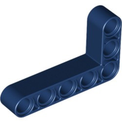 Dark Blue Technic, Liftarm, Modified Bent Thick L-Shape 3 x 5