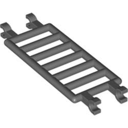 Dark Bluish Gray Bar 7 x 3 with Quadruple Clips (Ladder) - new