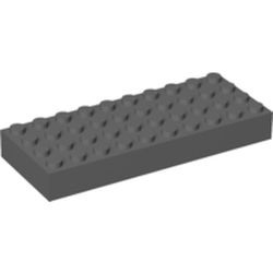 Dark Bluish Gray Brick 4 x 10