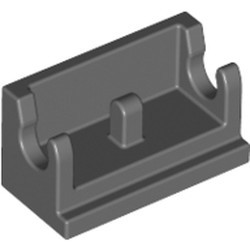 Dark Bluish Gray Hinge Brick 1 x 2 Base