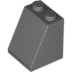 Dark Bluish Gray Slope 65 2 x 2 x 2 with Bottom Tube