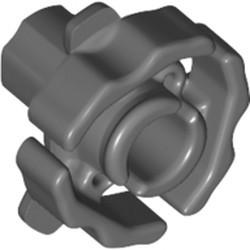 Dark Bluish Gray Technic, Clutch Connector Male / Inside