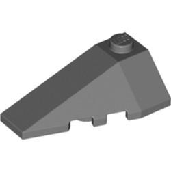 Dark Bluish Gray Wedge 4 x 2 Triple Left