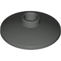Dark Gray Dish 2 x 2 Inverted (Radar) - used