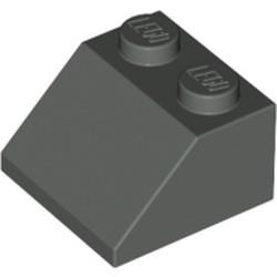 Dark Gray Slope 45 2 x 2