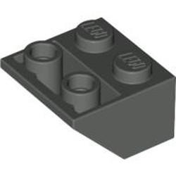 Dark Gray Slope, Inverted 45 2 x 2