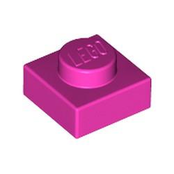 Dark Pink Plate 1 x 1