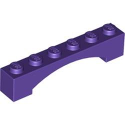 Dark Purple Arch 1 x 6 Raised Arch