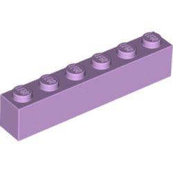 Lavender Brick 1 x 6