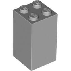 Light Bluish Gray Brick 2 x 2 x 3