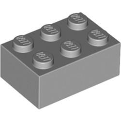 Light Bluish Gray Brick 2 x 3