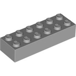 Light Bluish Gray Brick 2 x 6