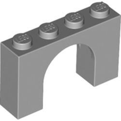 Light Bluish Gray Brick, Arch 1 x 4 x 2 - used