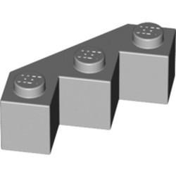 Light Bluish Gray Brick, Modified Facet 3 x 3 - used