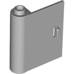 Light Bluish Gray Door 1 x 3 x 3 Left - Open Between Top and Bottom Hinge - used