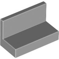 Light Bluish Gray Panel 1 x 2 x 1 with Rounded Corners