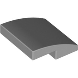Light Bluish Gray Slope, Curved 2 x 2 - new