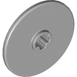Light Bluish Gray Technic, Disk 3 x 3 - used