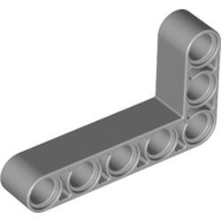 Light Bluish Gray Technic, Liftarm, Modified Bent Thick L-Shape 3 x 5