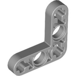 Light Bluish Gray Technic, Liftarm, Modified Bent Thin L-Shape 3 x 3