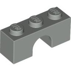 Light Gray Brick, Arch 1 x 3 - used