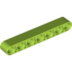 Lime Technic, Liftarm Thick 1 x 7