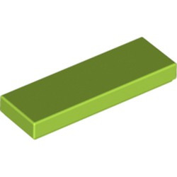 Lime Tile 1 x 3 - used
