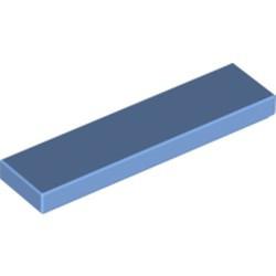 Medium Blue Tile 1 x 4 - used
