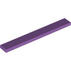Medium Lavender Tile 1 x 8
