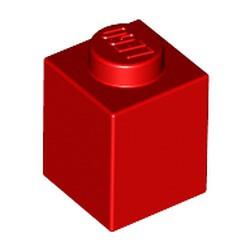 Red Brick 1 x 1 - used