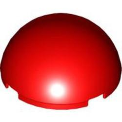 Red Cylinder Hemisphere 4 x 4 - used