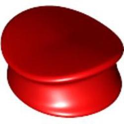 Red Minifigure, Headgear Hat, Police