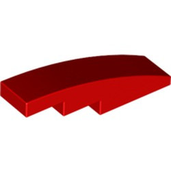 Red Slope, Curved 4 x 1 - used