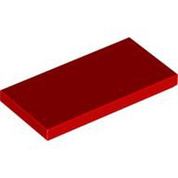 Red Tile 2 x 4