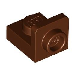 Reddish Brown Bracket 1 x 1 - 1 x 1 Inverted - new