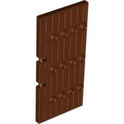 Reddish Brown Door 1 x 5 x 8 1/2 Stockade