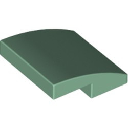 Sand Green Slope, Curved 2 x 2 - new