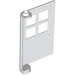 White Door 1 x 4 x 5 with 4 Panes
