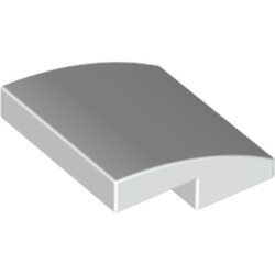 White Slope, Curved 2 x 2