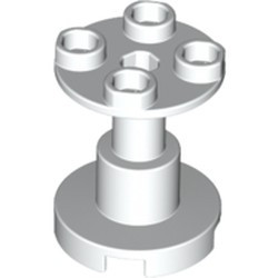 White Support 2 x 2 x 2 Stand with Complete Hole